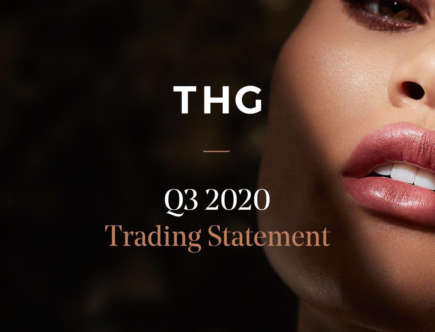 Q3 trading update thg image